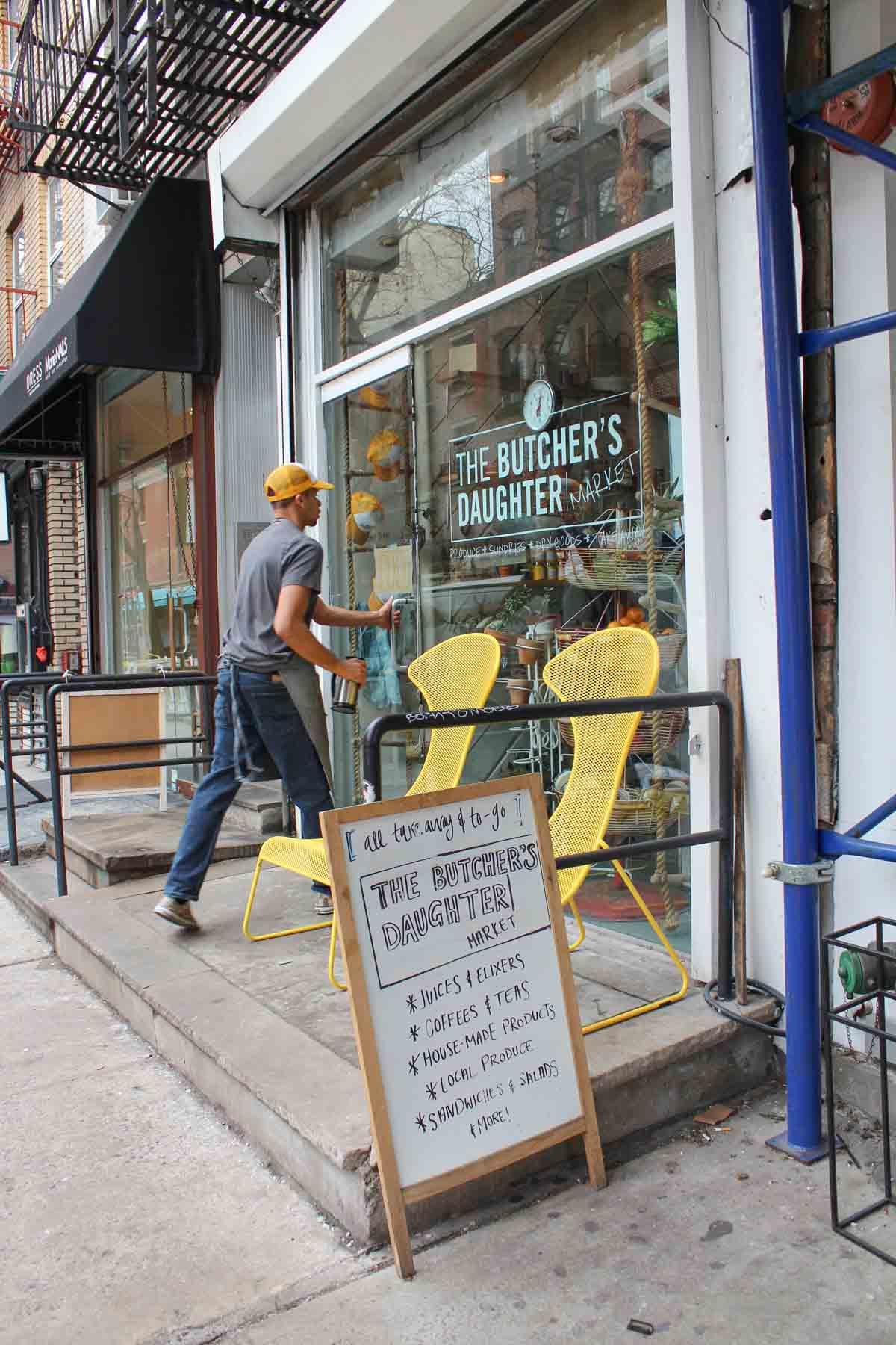 Butcher's Daughter, food hotspot, 16x favoriete buurten in New York City [en toffe hotel tips!]