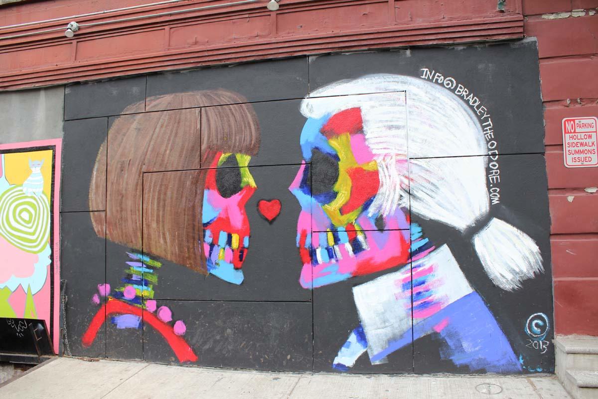 Soho, Manhattan, favoriete buurt New York - Map of Joy