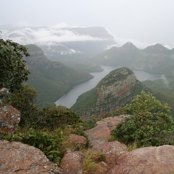 Drakensbergen, God's Window, Zuid-Afrika