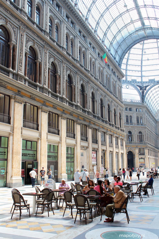 Naples, Italy city trip - Map of Joy