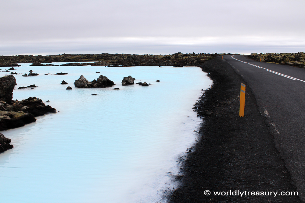 Blue Lagoon, Iceland, travel report - Map of Joy