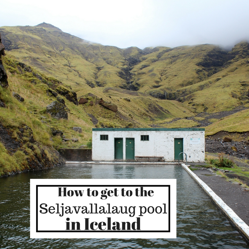 Seljavallalaug pool, Iceland, how to get there-Map of Joy