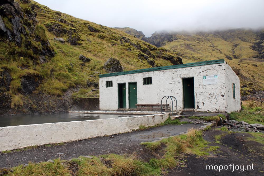 Seljavallalaug pool, Iceland, travel report - Map of Joy