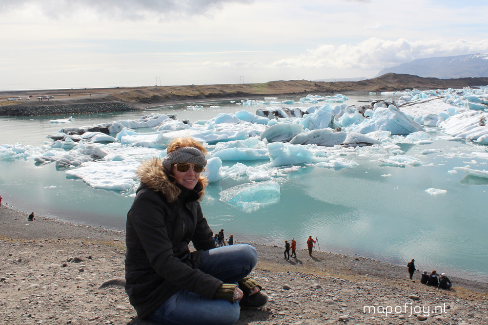 Jökulsárlón, Iceland, travel report - Map of Joy