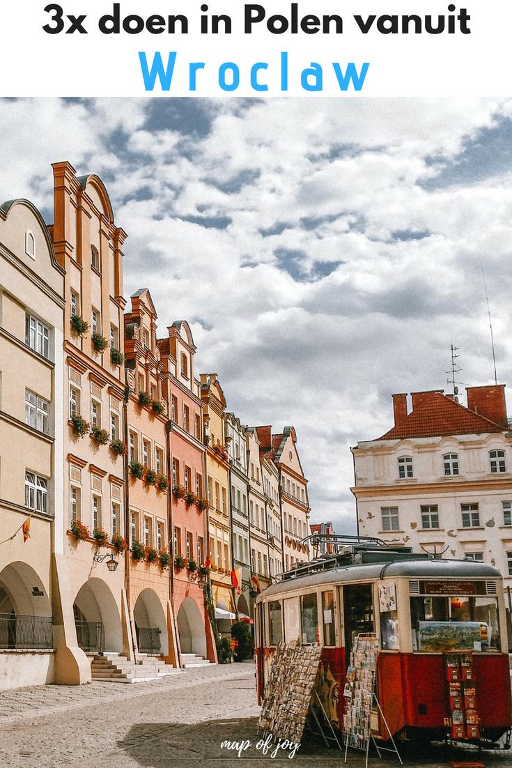 3x doen vanuit Wroclaw, Polen - Map of Joy