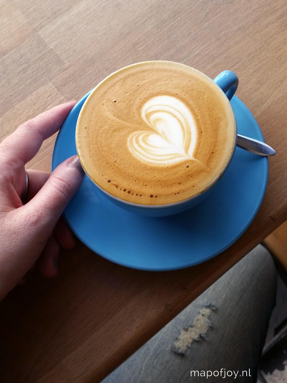 Cream coffee, Paris - Map of Joy