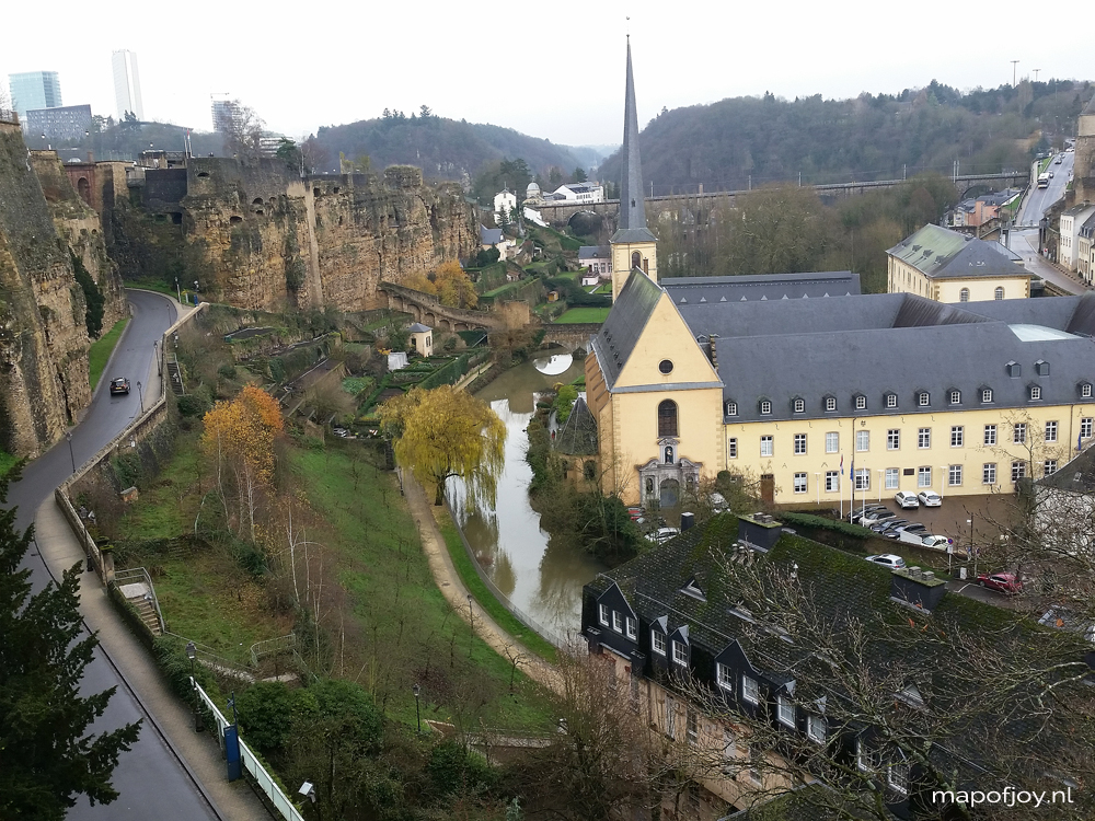 Chemin de la Corniche, Luxembourg - Map of Joy