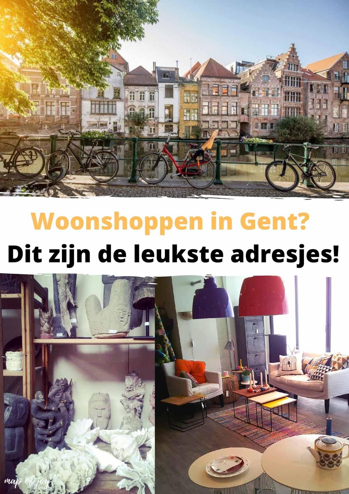 Woonshoppen in Gent? Dit zijn de leukste adresjes!