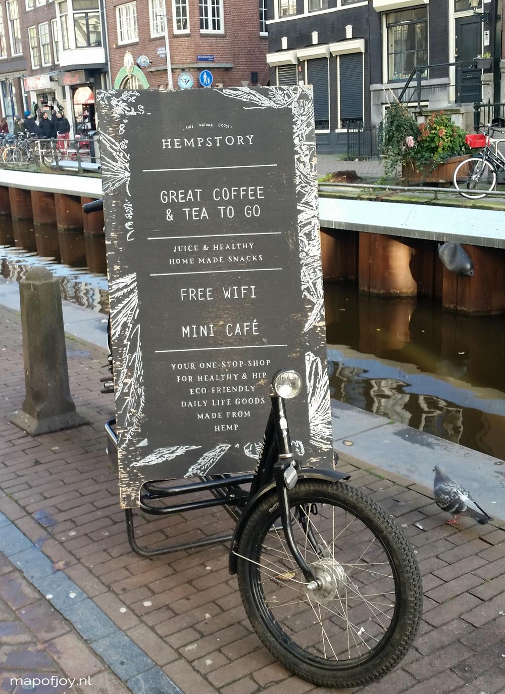 Hempstory, hotspot, Amsterdam - Map of Joy