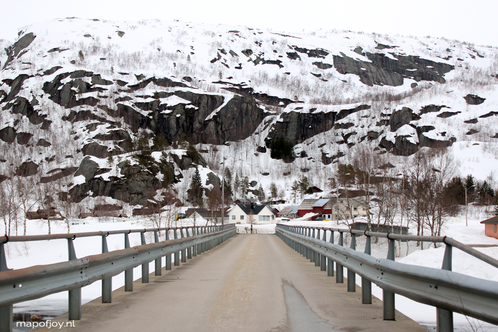 Sirdal, Norway, travel report - Map of Joy