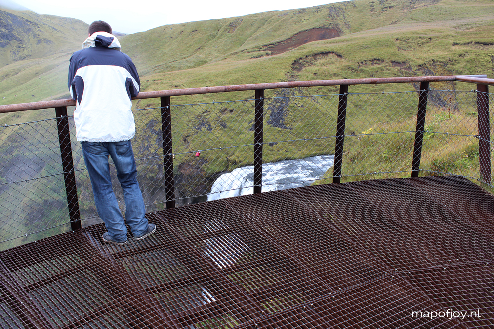 Iceland, Skogafoss waterfall - Map of Joy