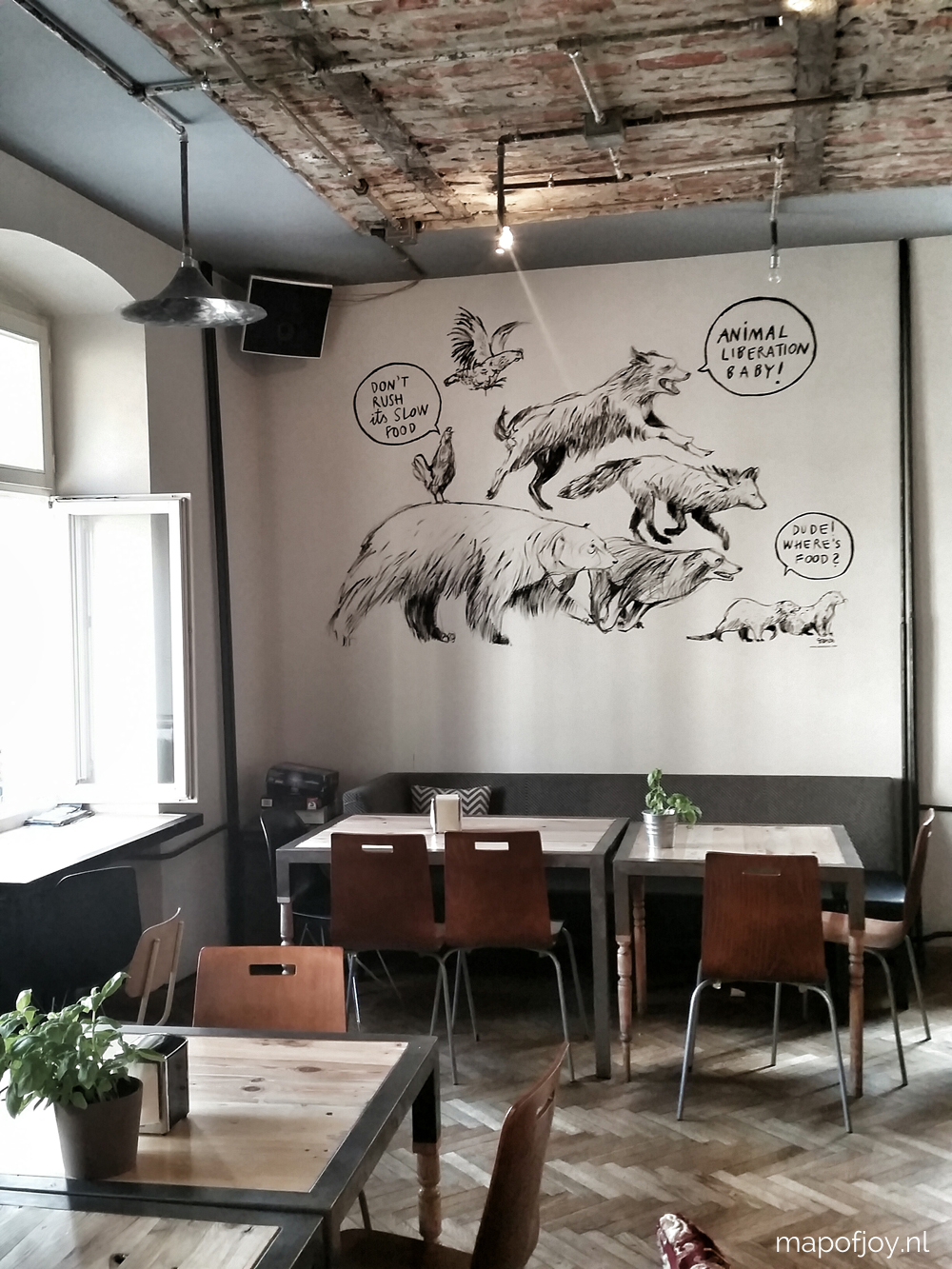 8x food hotspot Vega in Wroclaw, Poland - Map of Joy