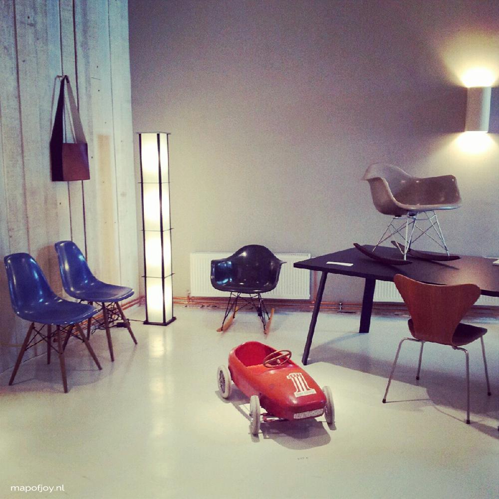 Ydee, design hotspot, gent - Map of Joy
