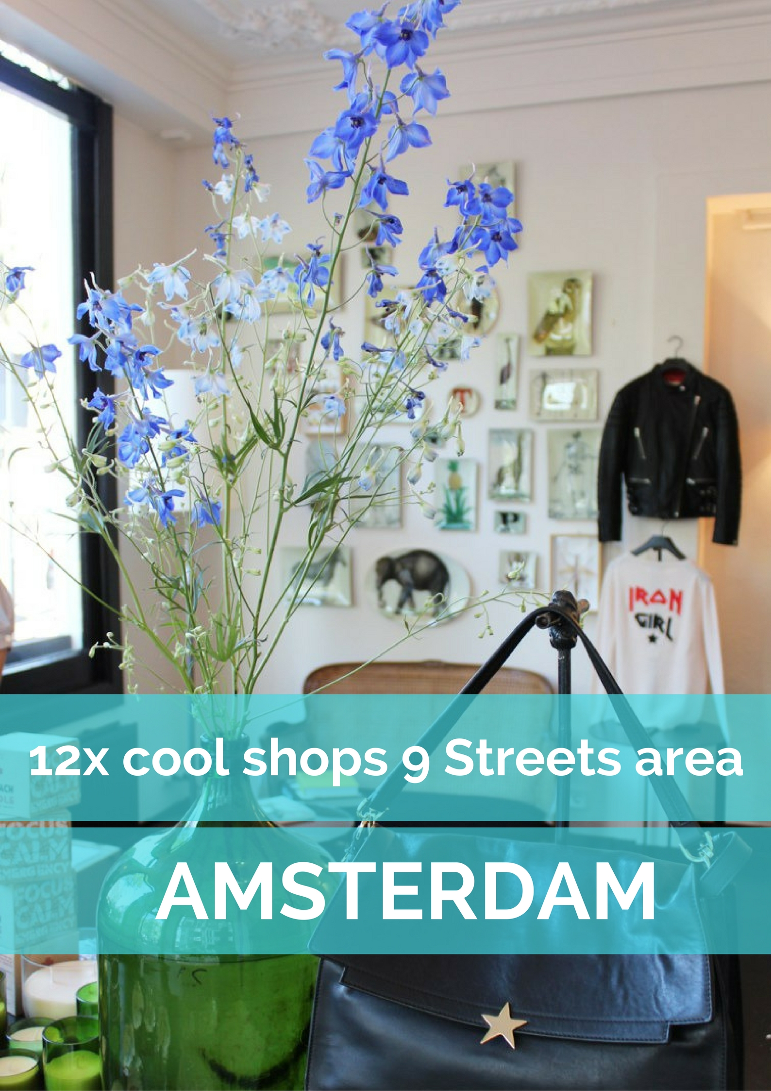 12 cool shops in the 9 Streets area in Amsterdam - Map of Joy
