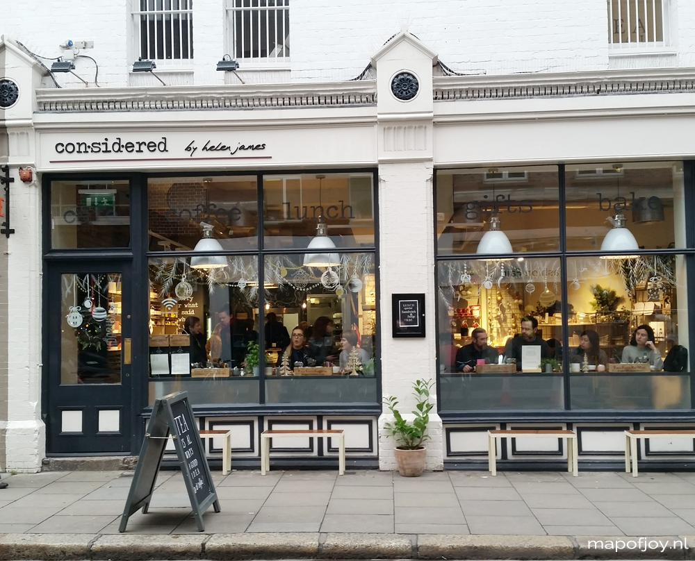 Considered cafe, hotspot, Dury Street Dublin - Map of Joy