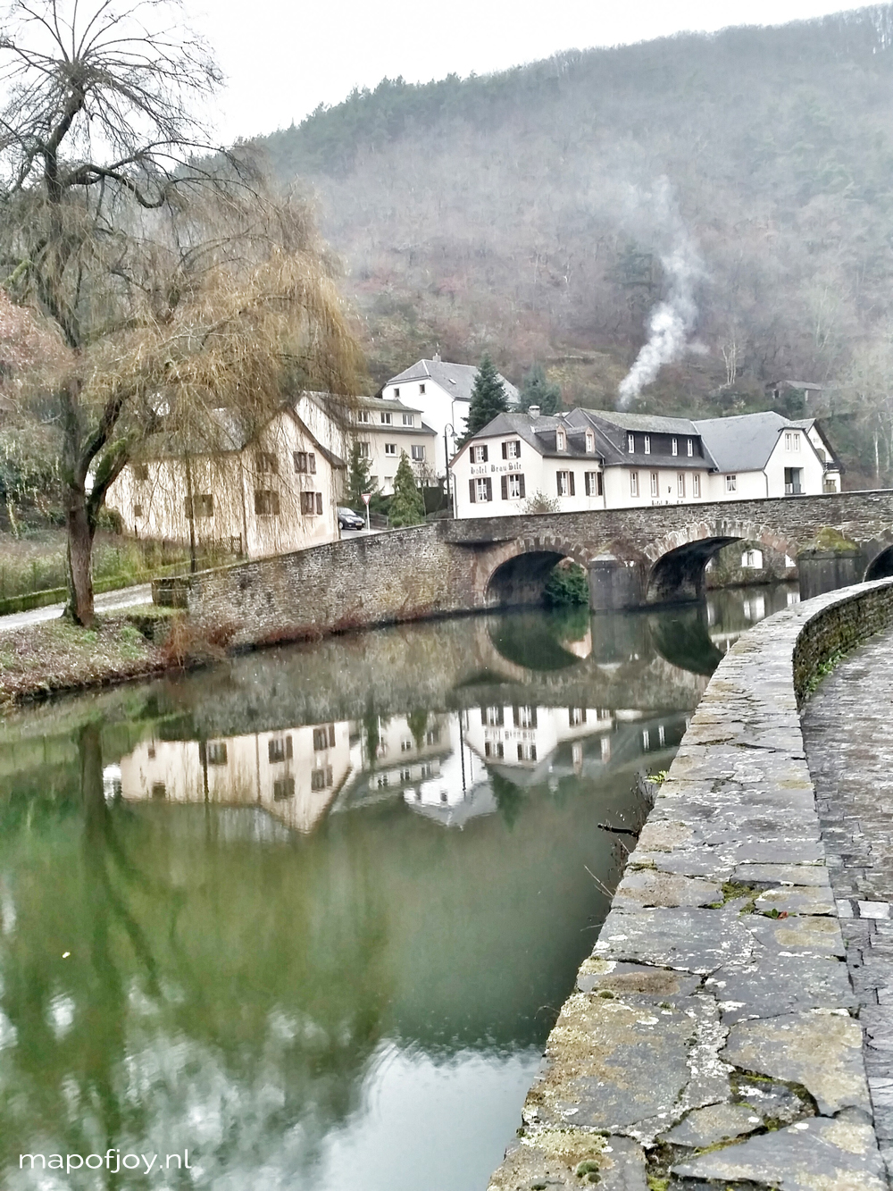 Esch-sur-Sûre, Luxemburg travel report- Map of Joy