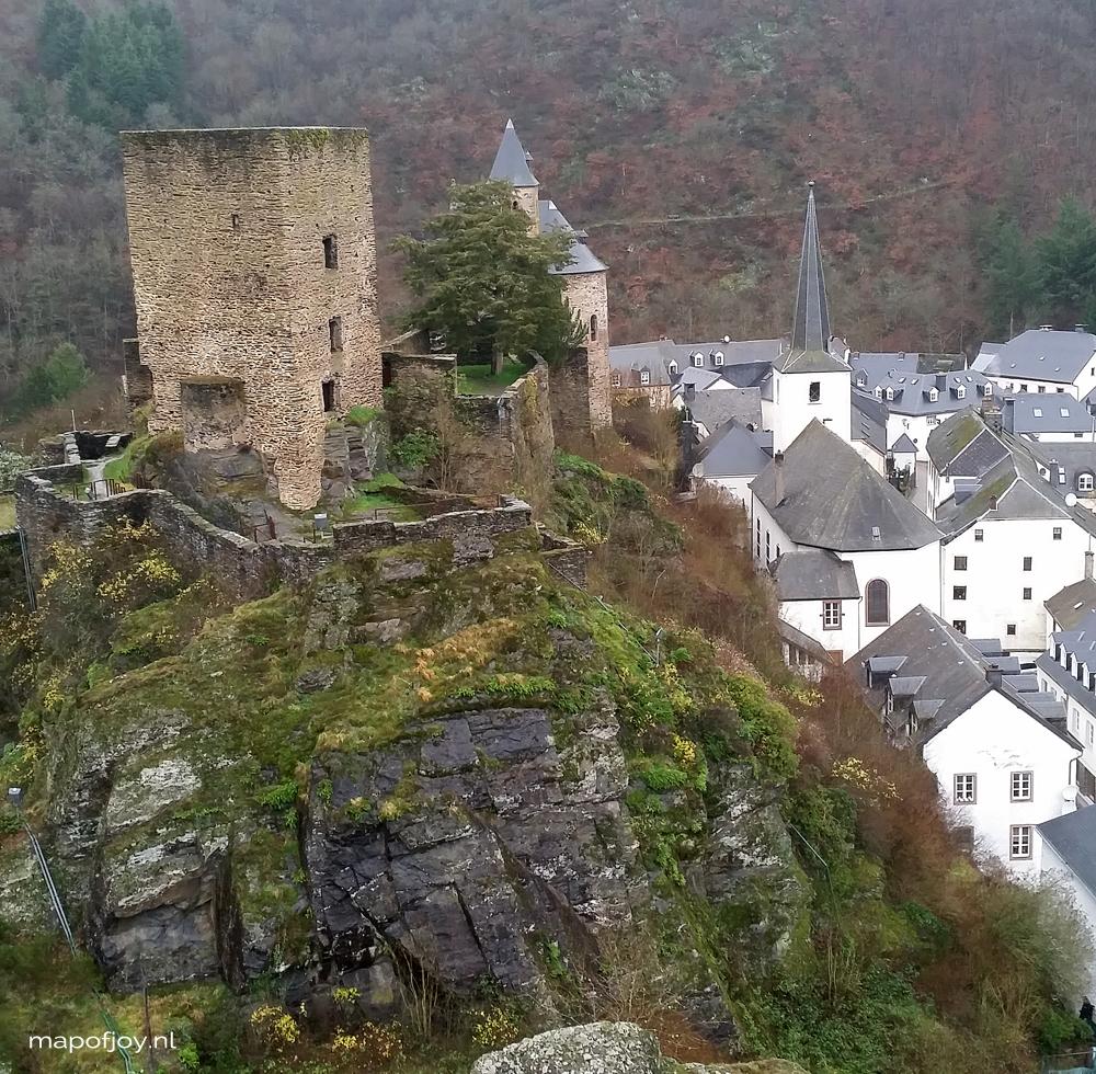 Esch-sur-Sûre, Luxemburg travel report- Map of Joy