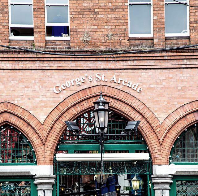 George Street Arcade, hotspot, Dublin - Map of Joy