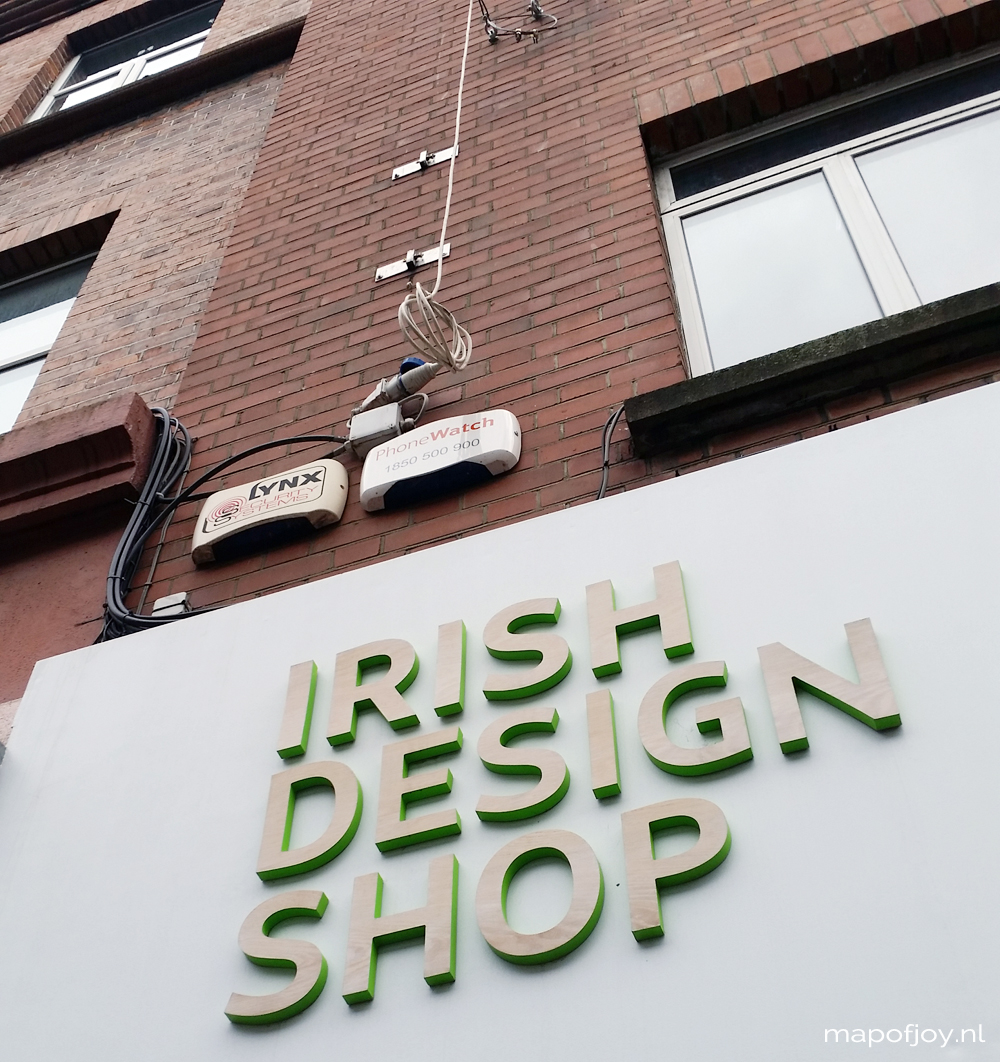 Irish Design Shop, hotspot, Dublin - Map of Joy