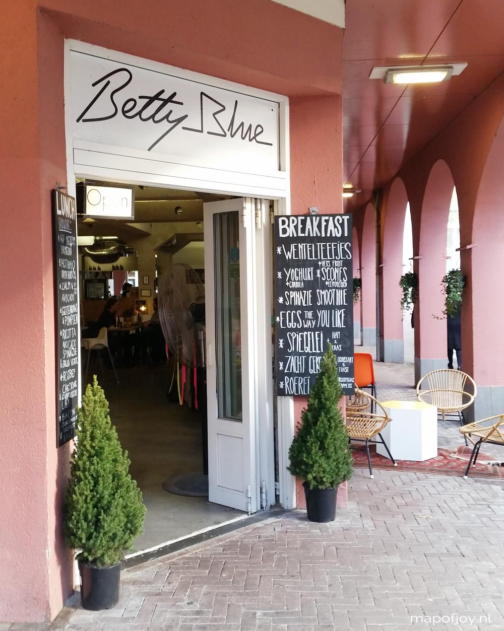 Betty Blue, food hotspot Amsterdam - Map of Joy