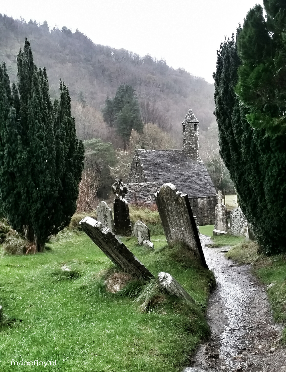 Glendalough, Ireland - Map of Joy