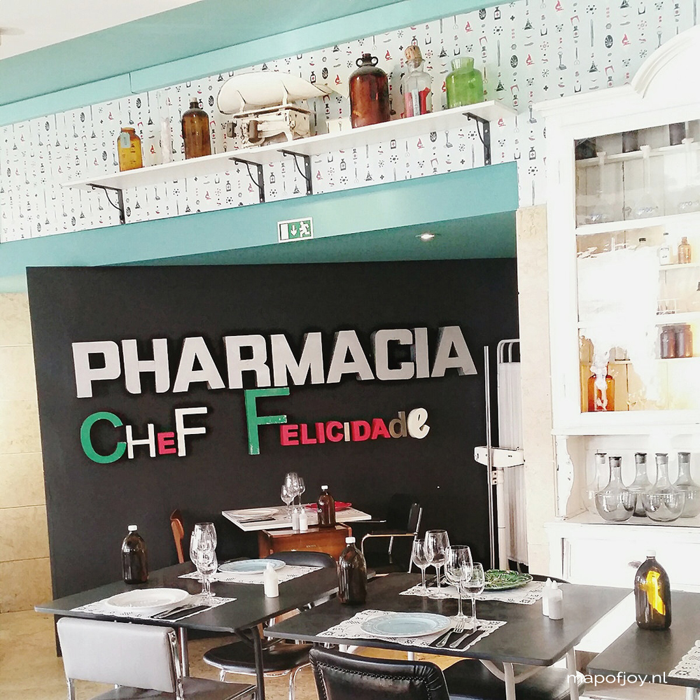 Hotspot Pharmacia, Lisbon - Map of Joy