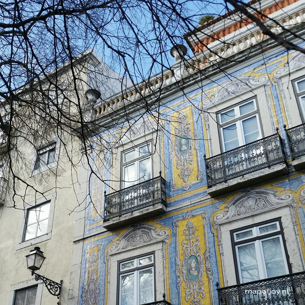 Lisbon, Alfama - Map of Joy