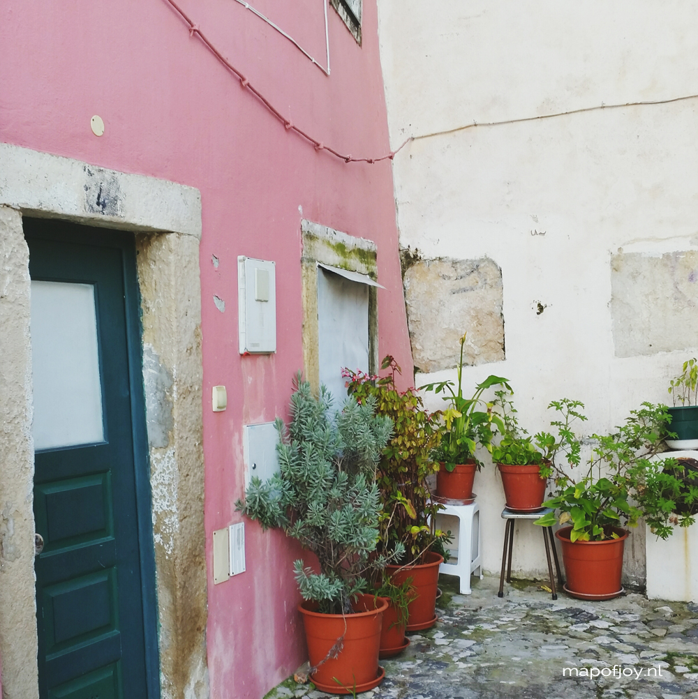 Botanical bliss in Alfama, Lisbon - Map of Joy
