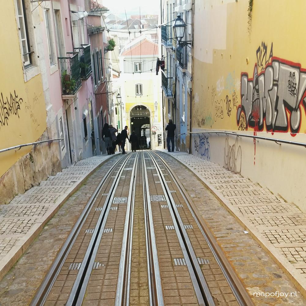 Lisbon, Bairro Alto - Map of Joy
