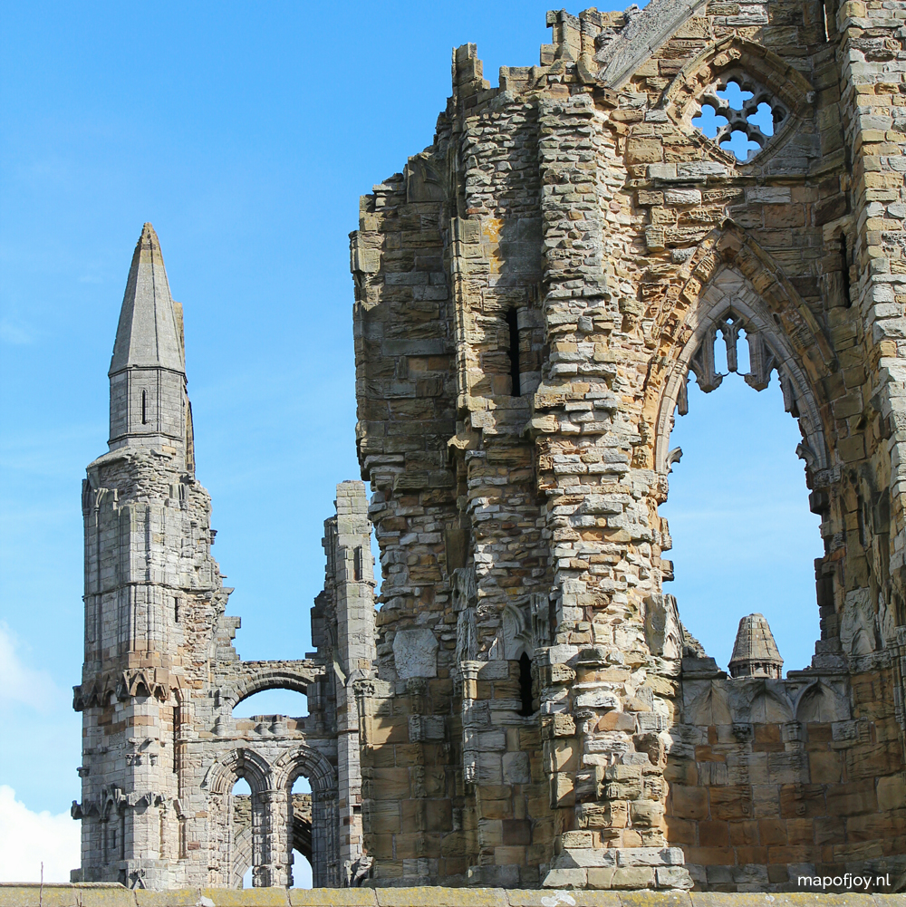 Whitby, Whitby Abbey, England - Map of Joy