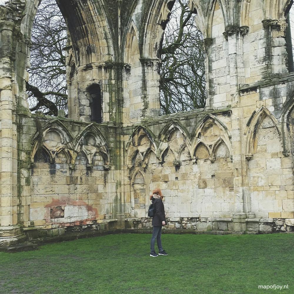 York, England - Map of Joy