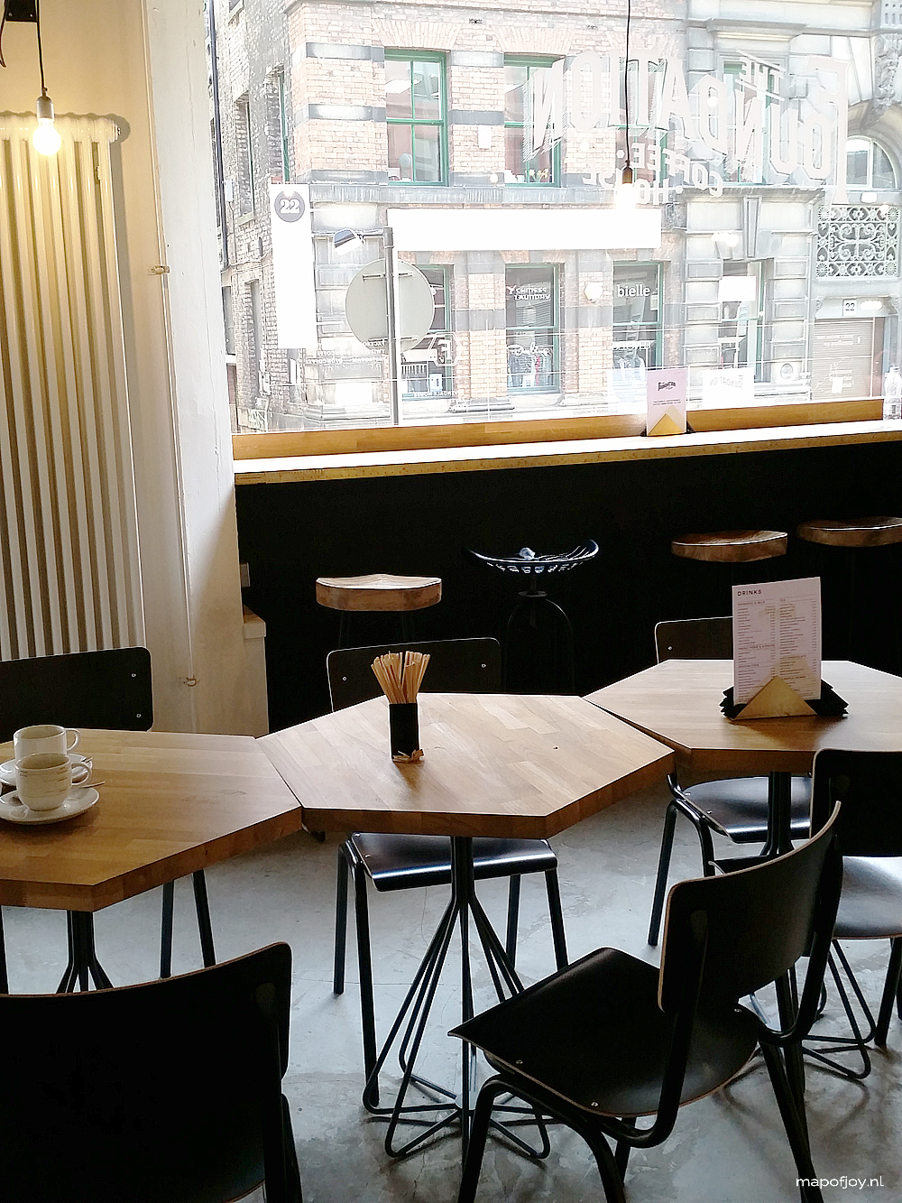 9x hot spots in Northern Quarter, Manchester, Foundation Coffee House - Map of Joy