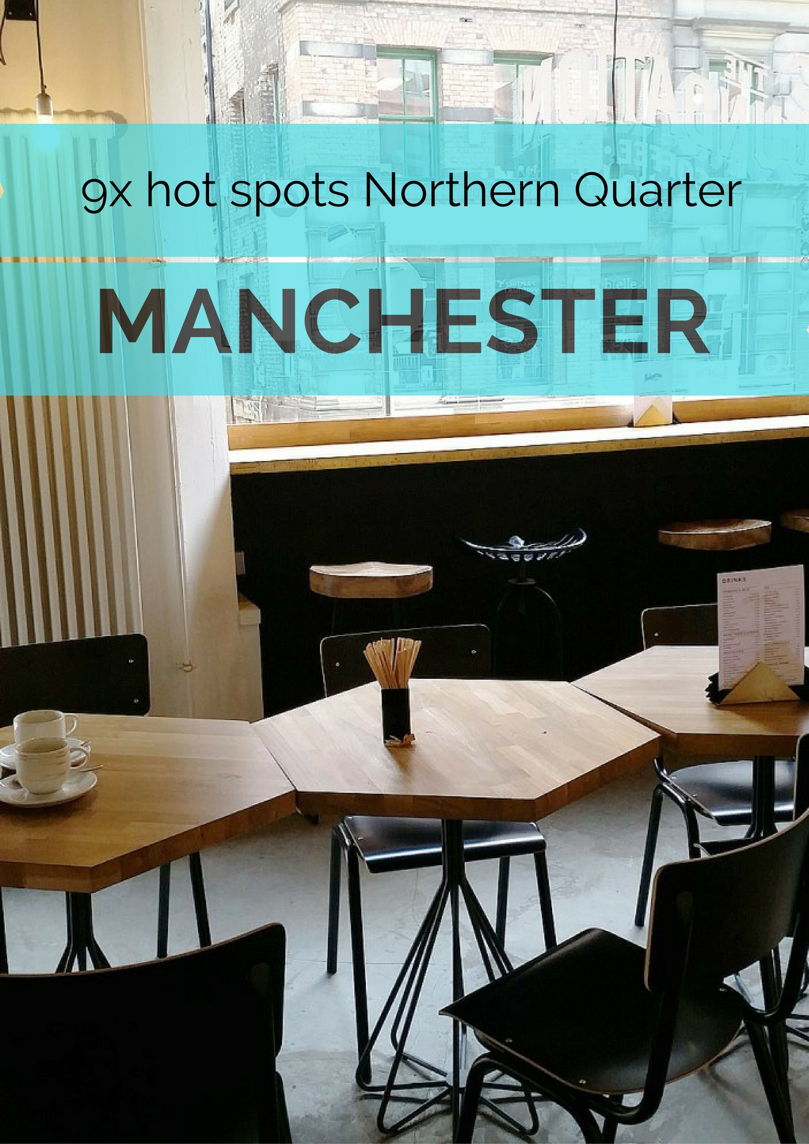 9x hot spots in the Northern Quarter, Manchester - Map of Joy