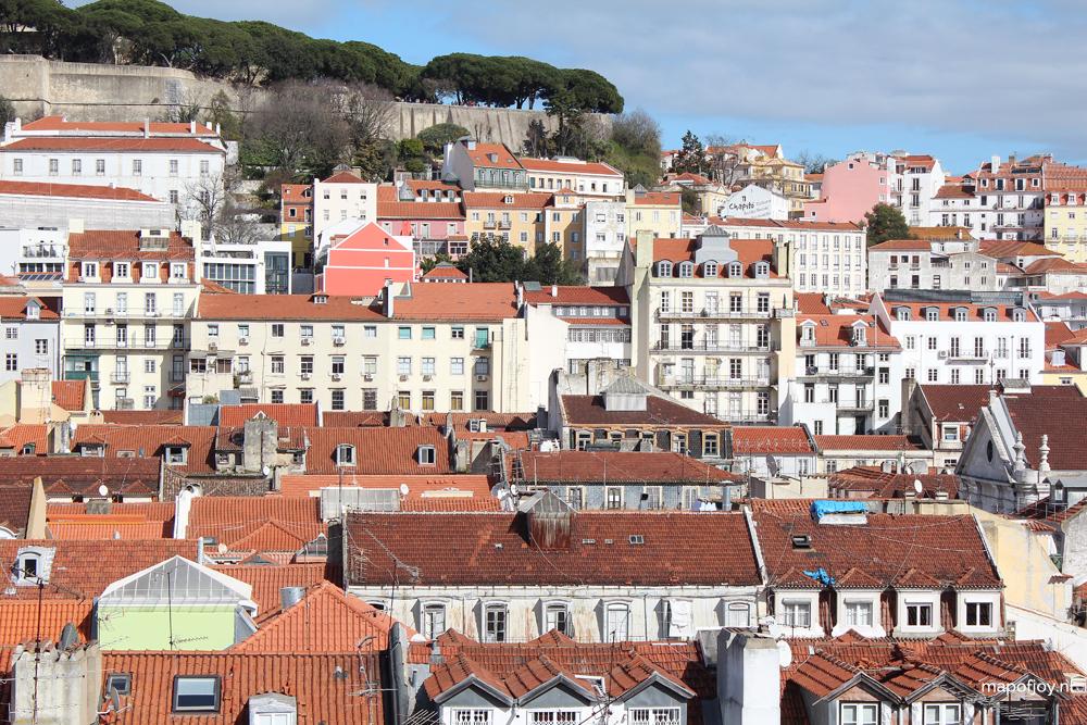 Hotel do Chiado, Entretanto rooftop bar, Lisbon - Map of Joy