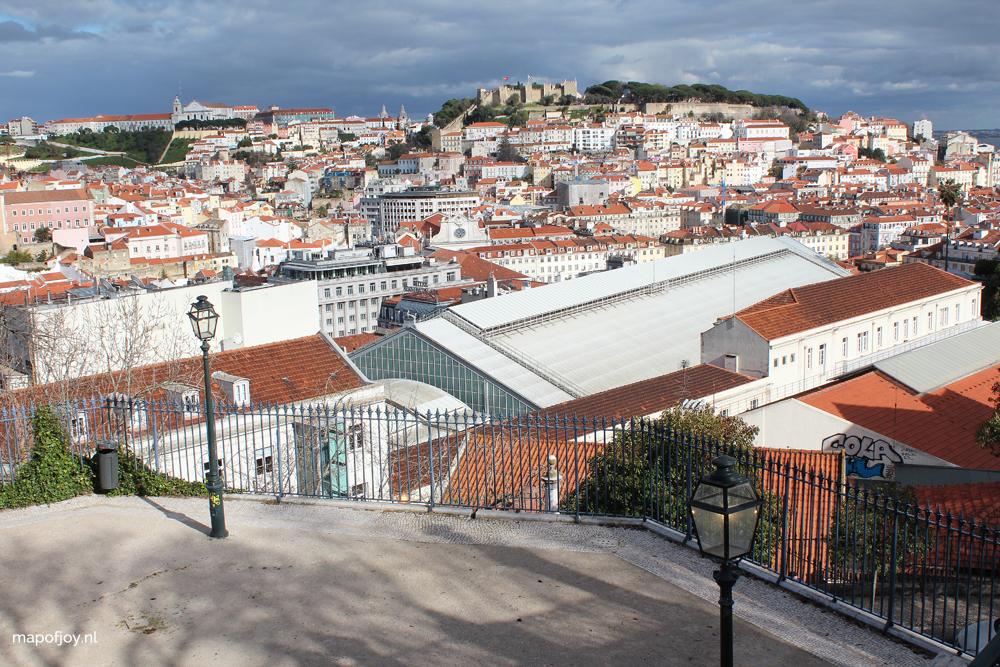 Miradouro de São Pedro de Alcântara, Lisbon, park with great view - Map of Joy