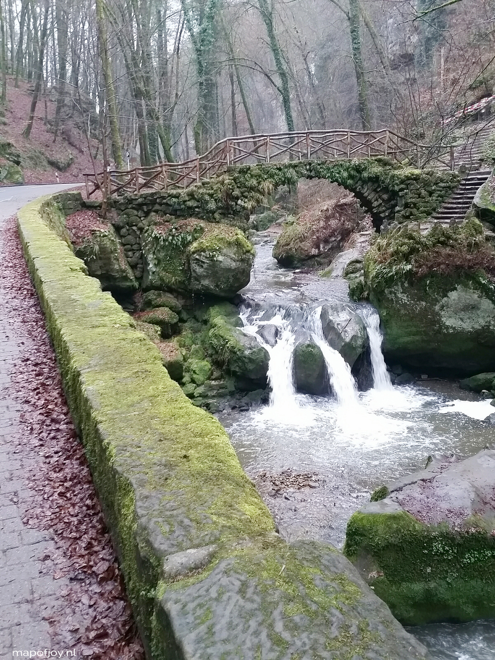 Mullerthal, Luxemburg, travel report - Map of Joy