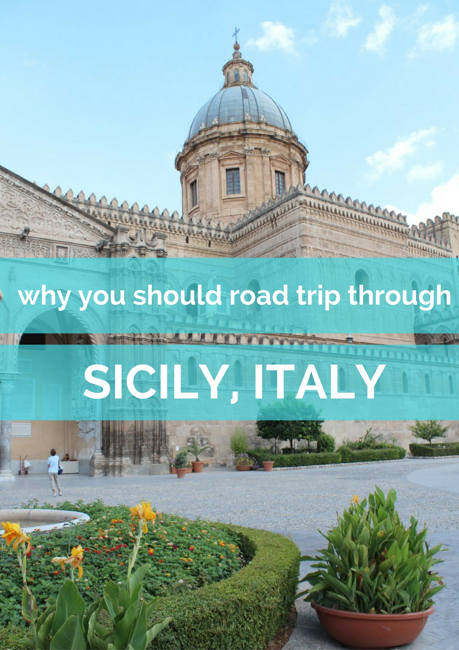 Road trip inspo and tips Sicily, Italy - Map of Joy