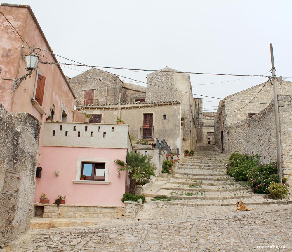 Road trip Sicily, Italy - Map of Joy