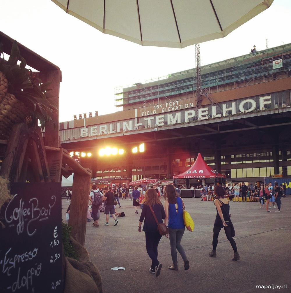Tempelhof, Berlin Festival - Map of Joy