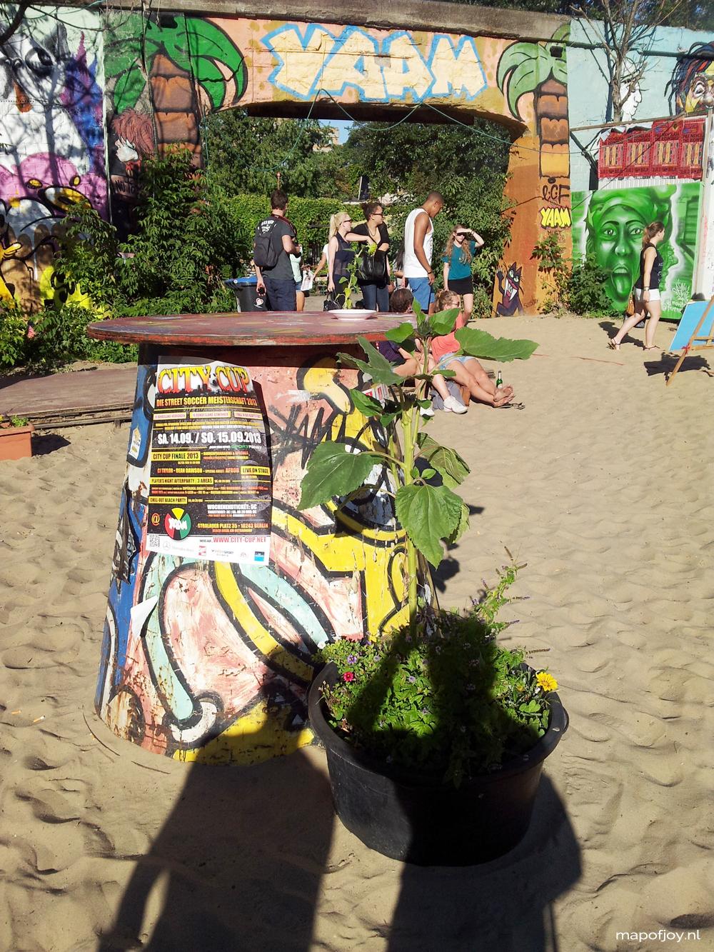 Yaam, Spree, Berlin hotspot - Map of Joy