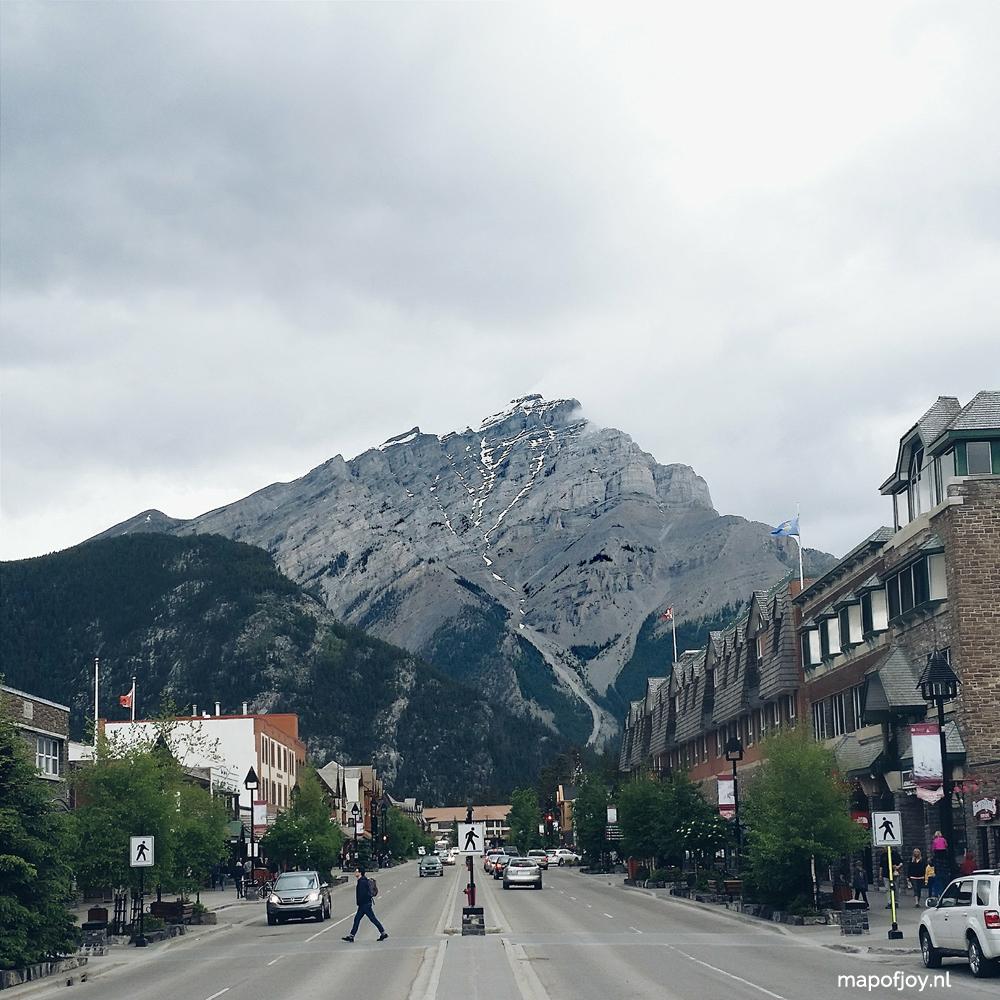Banff Alberta, Canada - Map of Joy