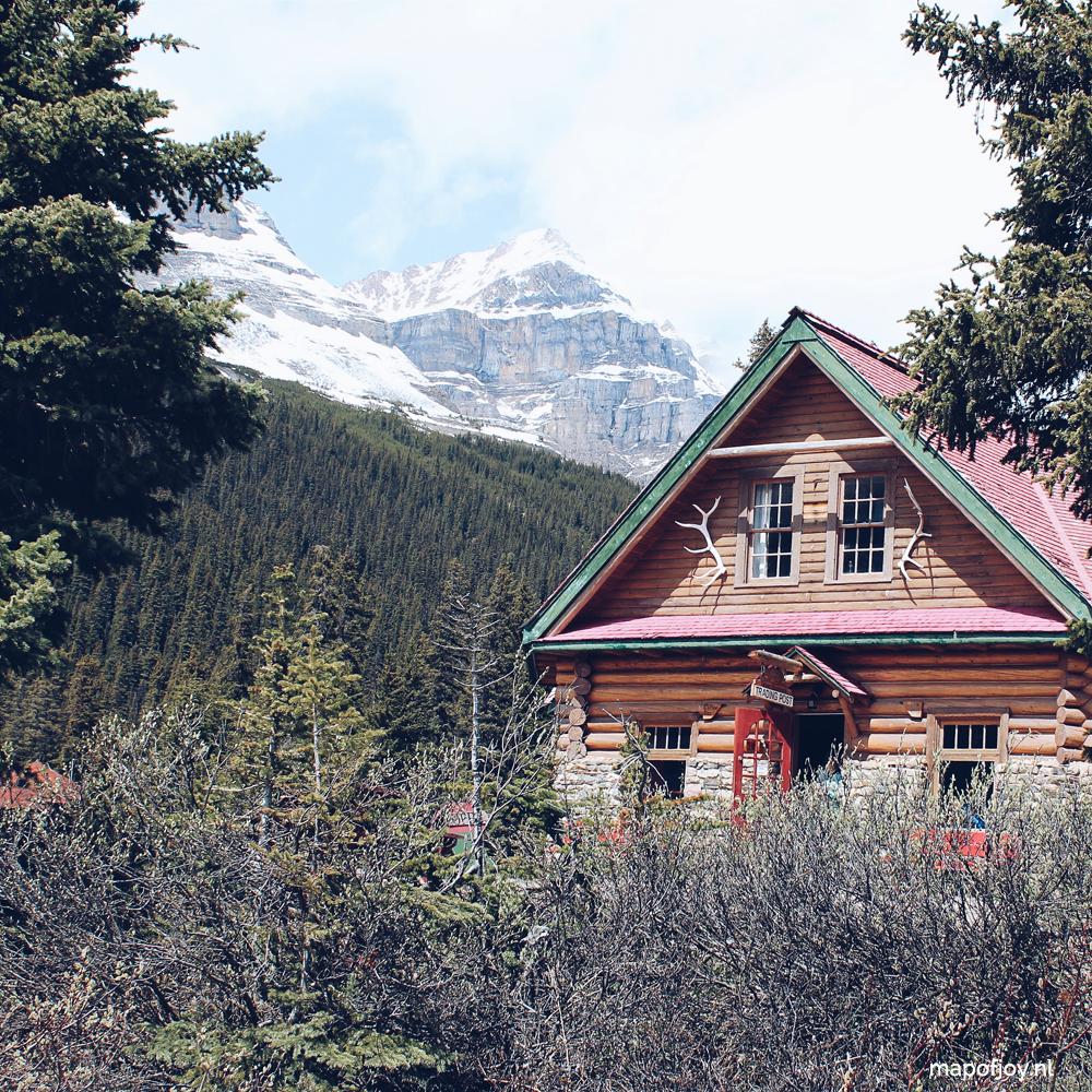 Bow Lake Num-Ti-Jah Lodge, Alberta, Canada - Map of Joy