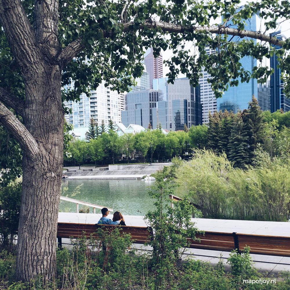 Calgary, Prince's Island Park, Alberta, Canada - Map of Joy