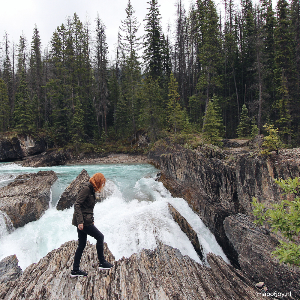 Natural Bridge, Yoho National Park, British Columbia, Canada - Map of Joy