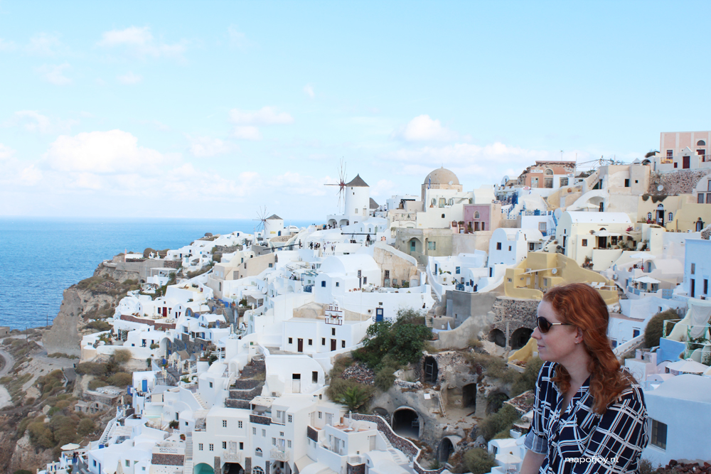 Oia, Santorini, Greece - Map of Joy