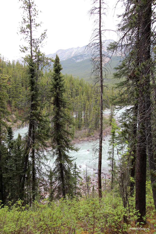 Sunwapta Falls, Alberta, Canada - Map of Joy