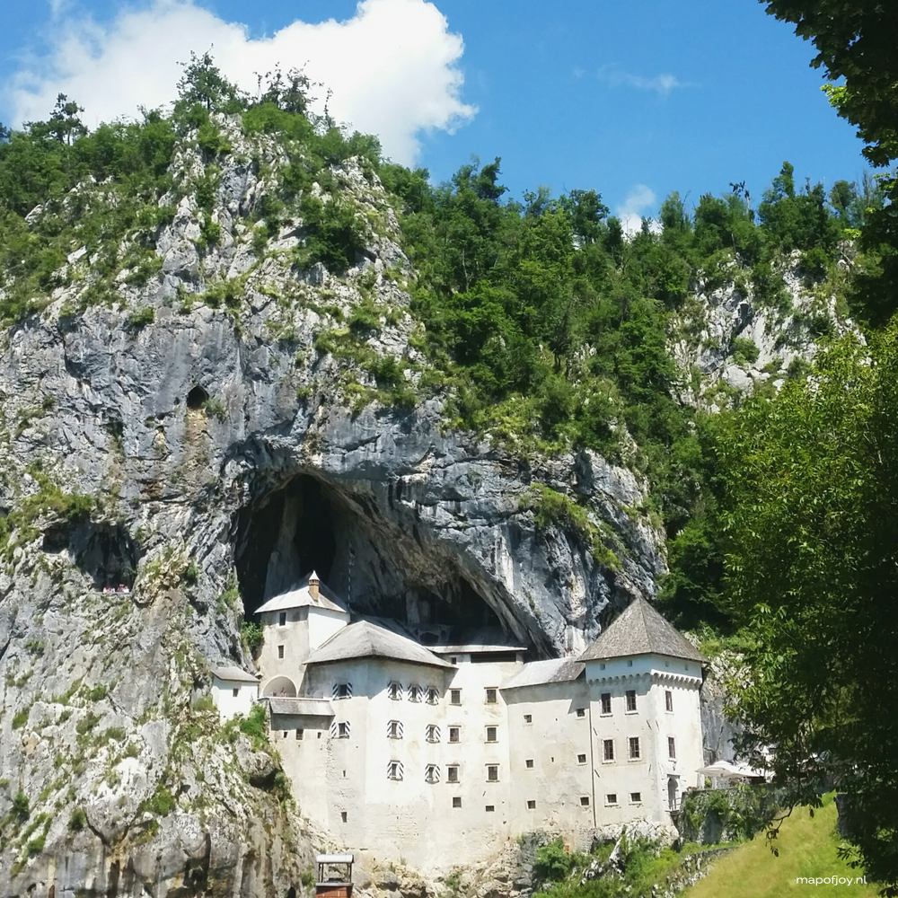 Predjama Castle, Slovenia - Map of Joy