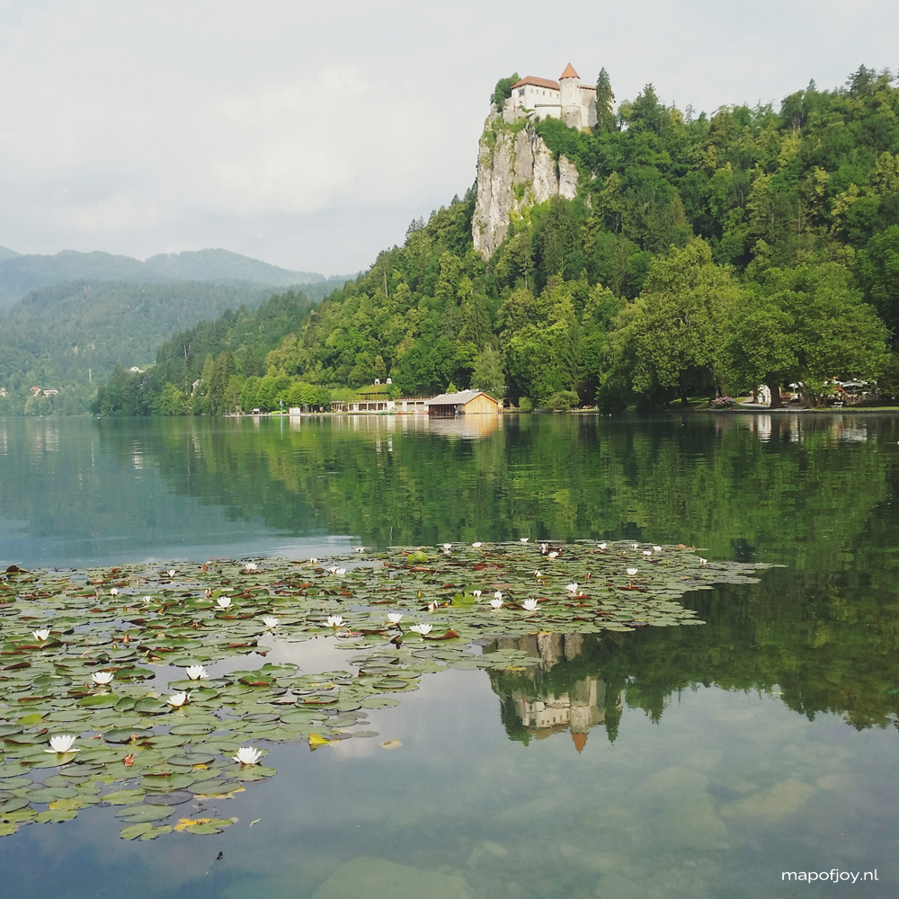 Bled, Slovenia, travel - Map of Joy