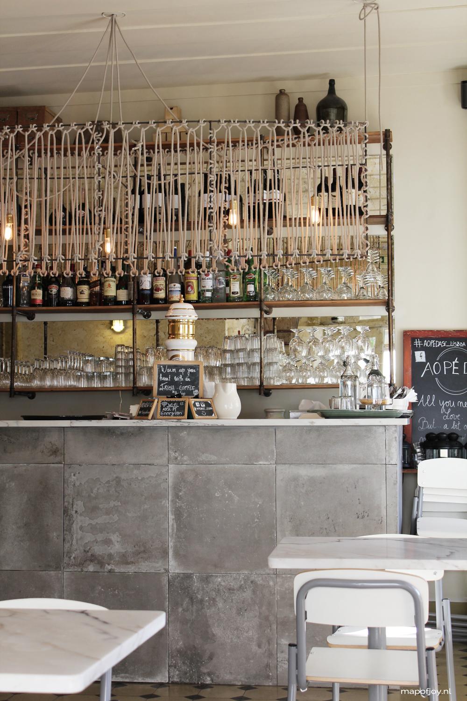 La Contessa, food hot spot Lisbon - Map of Joy