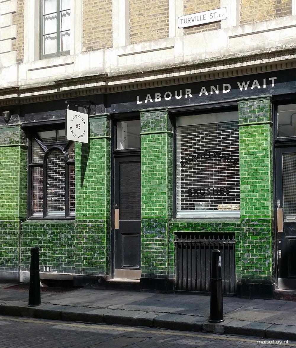 Labour & Wait, Shoreditch, London - Map of Joy